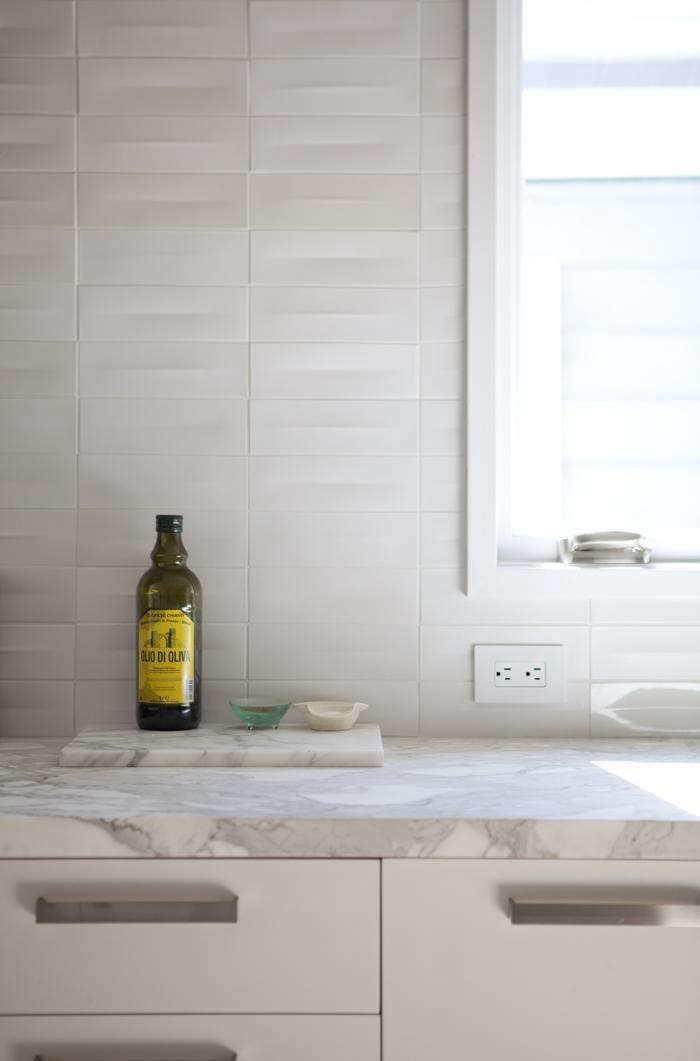 Remodeling 101 five questions to ask when choosing a for Dimensional tile backsplash