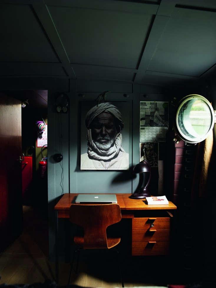 74r-Valerie-Mazerat-houseboat-Richard-Powers-Thames-&-Hudson-Remodelista
