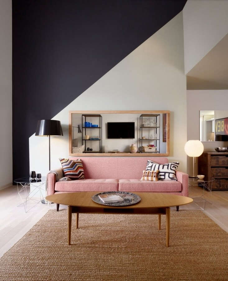 Selecting A Paint Color For An Accent Wall: 10 Favorites: Accent Wall Ideas: Remodelista