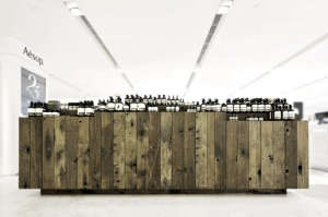 Aesop, Canton Road Hong Kong, Old Boat Plank Cabinets | Remodelista