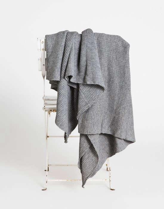 Aiayu-Havana-llama-wool-throw-blanket-Remodelista