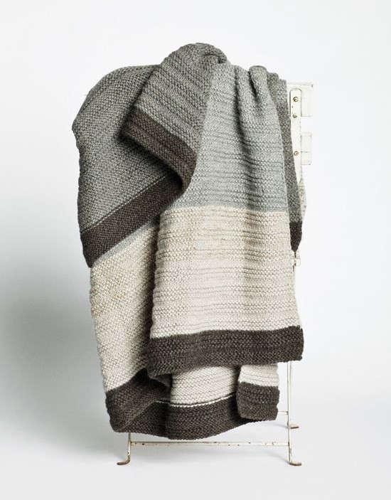 Aiayu-Illimani-handknit-baby-llama-wool-throw-blanket-Remodelista
