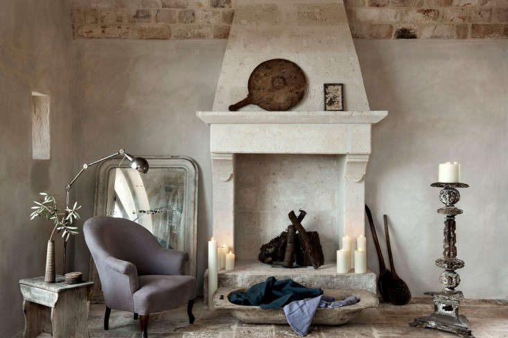Photograph by Emily Andrews, courtesy of Alexander Waterworth Interiors, from Pastels Go Rustic in an Italian Farmhouse.
