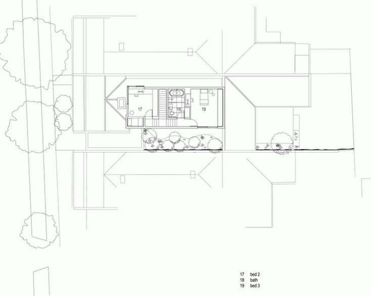 Alfred-Street-Residence-Studio-Four-Australia-Floor-Plan-second-floor-Remodelista