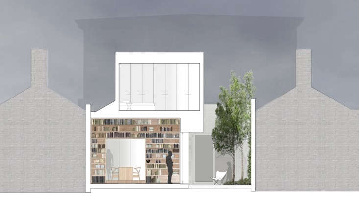 Alfred-Street-Residence-Studiofour-cross-section-Remodelista