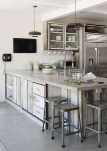 Amanda Pays Concrete Kitchen Counter, Remodelista
