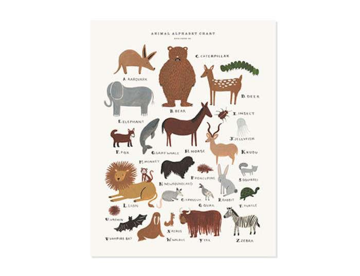 Animal-Alphabet-Chart-Print