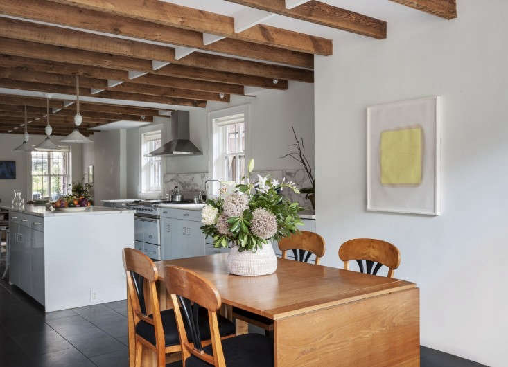 Annabelle-Selldorf-Brooklyn-kitchen-renovation-Danish-dining-table-Remodlista