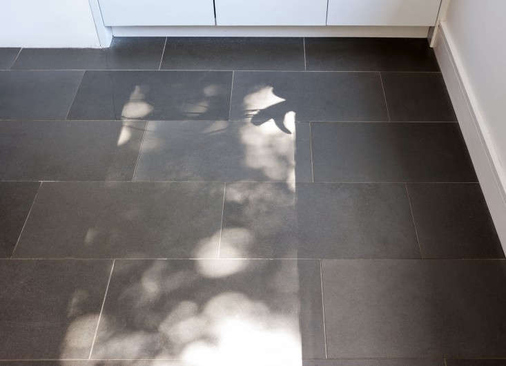 selldorf brooklyn kitchen renovation limestone tile floor remodelista