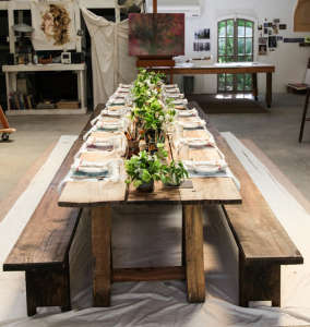 Dinner in an Atelier from Anthology Magazine, Get the Look from Remodelista