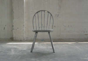 Metal Windsor Chair from Antipod Studio in Belgrade, Serbia | Remodelista