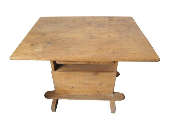 Antique Bakers Table_Chairish