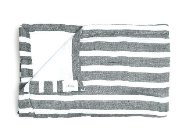 Apolis-hand-loomed-beach-towel-olive-white-Remodelista