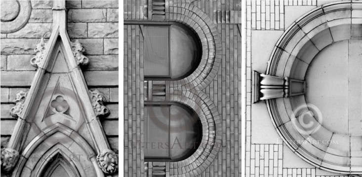 budget one or several 4 by 6 inch lettersart photos letters discovered in architectural details and