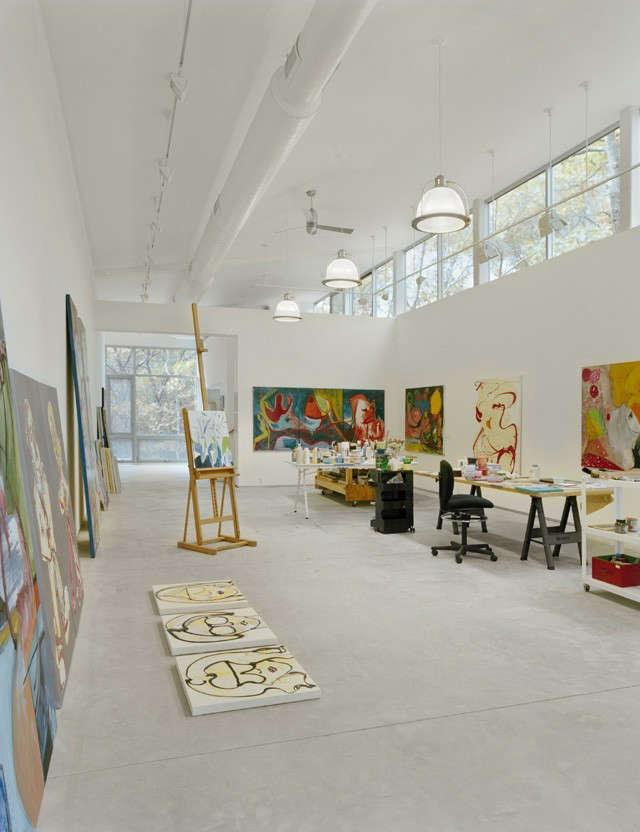 creative ceiling architectural design ideas - 10 Favorites Architect Designed Art Studios Remodelista