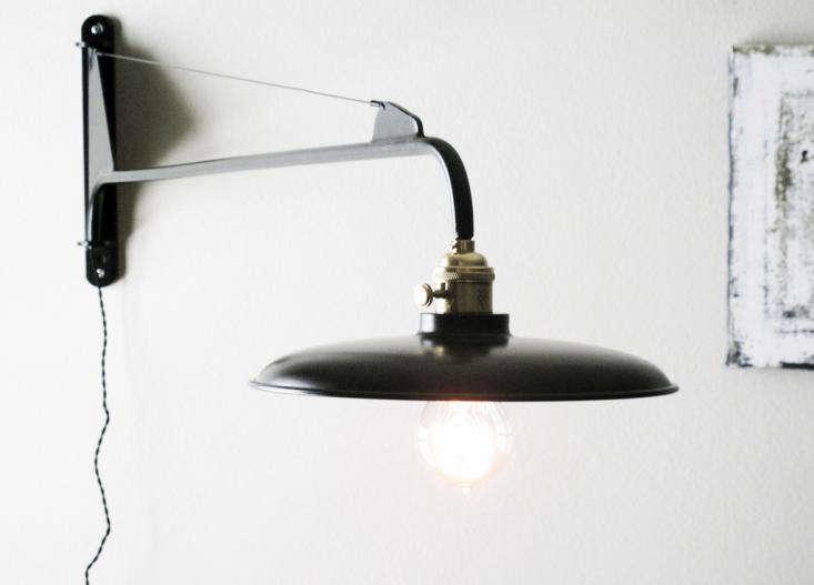 Atelier De Troupe S Potence 36 Inch Long Black Jib Lamp