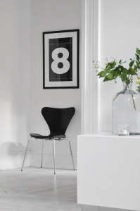 Chinese New Year, Auspicious number 8 as wall decor | Remodelista