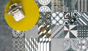 Azulej- Patchwork tiles: Remodelista