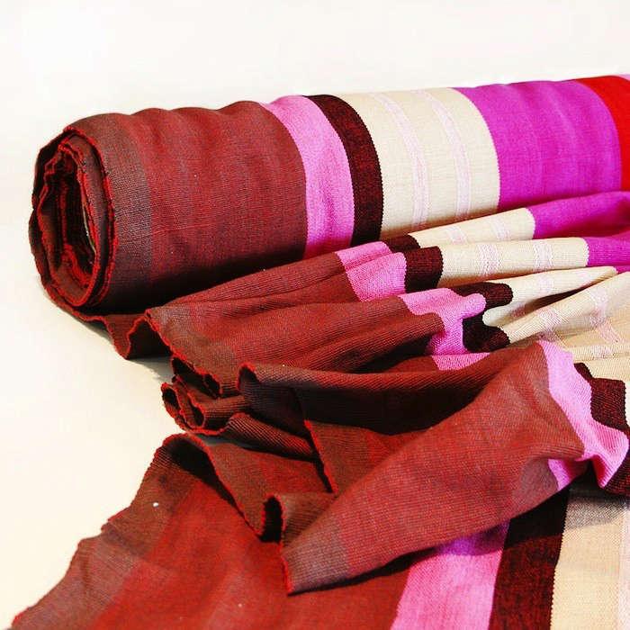 Barefoot-Berry-Stripe-Fabric-Cloth-Fabric