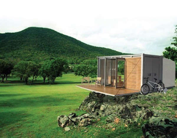 10 Houses Made From Shipping Containers Remodelista