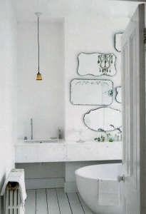 Romantic Bathroom via Elle Decor UK I Remodelista