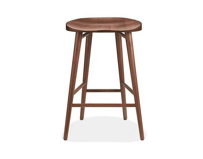 Bay Counter Stool in Walnut from Room and Board, Remodelista