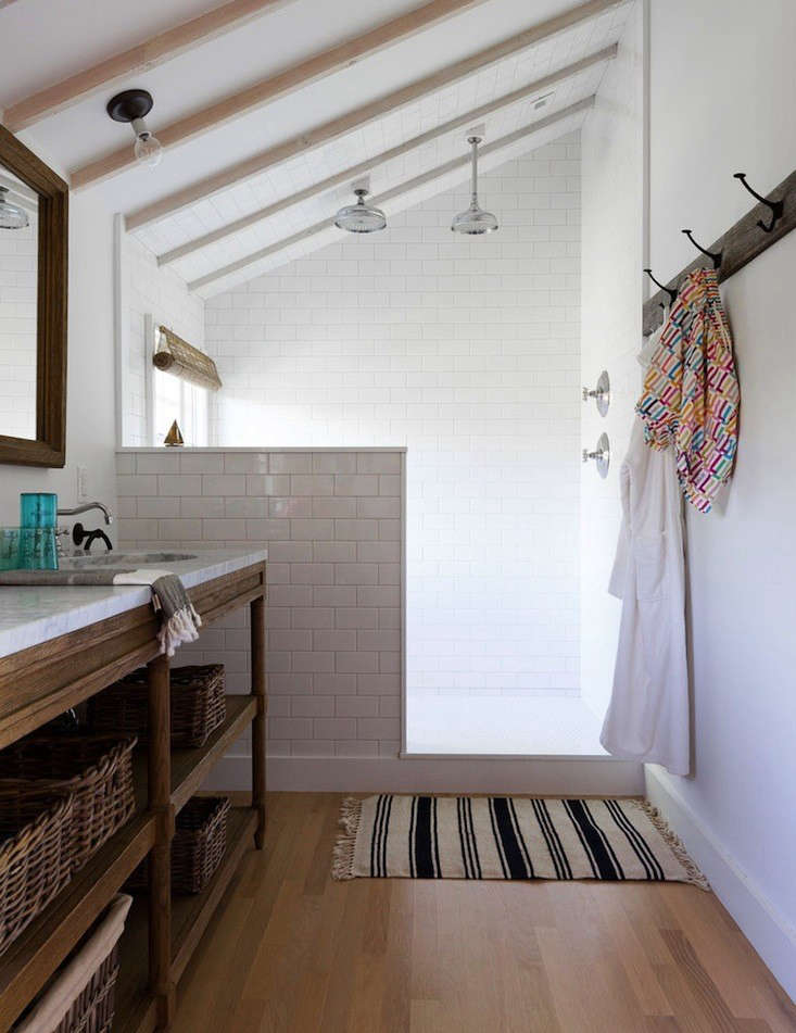 Steal This Look: A Masculine Beach House Bathroom - Remodelista