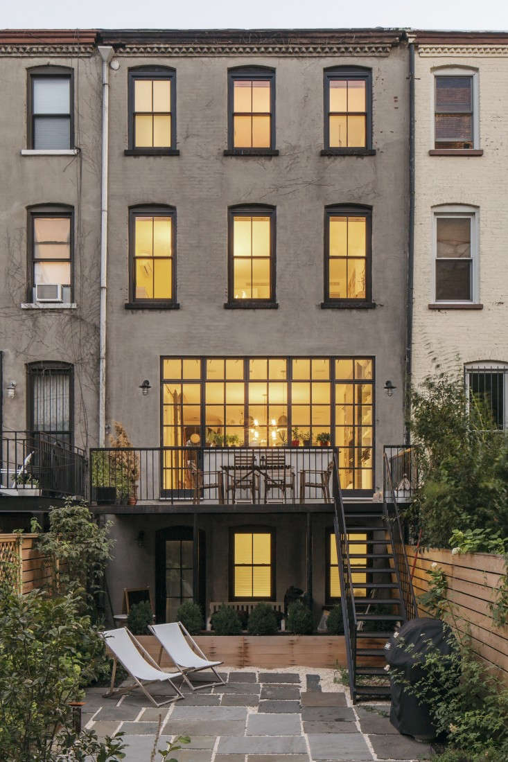 Brooklyn revival a bright and open family house by for New york city brownstone for sale