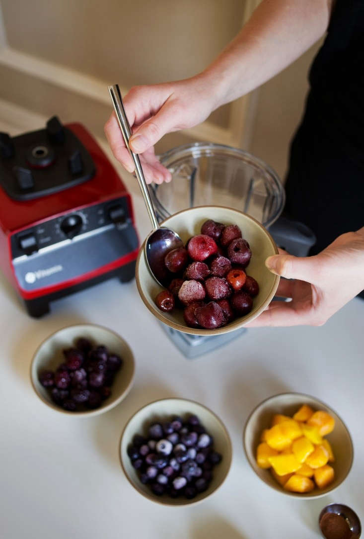 Berries for Vitamix Smoothie with Vegetables for Kids, Remodelista