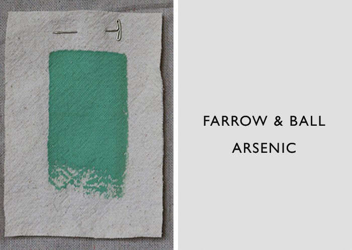 Best Jade and Celadon Green Paint Colors, Farrow & Ball Arsenic, Remodelista