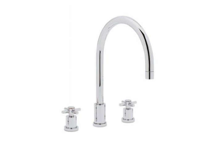 Blanco-Polished-Chrome-Kitchen-Faucet