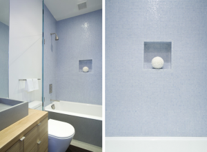 Pale Blue Bath by J. Weiss Design, Remodelista