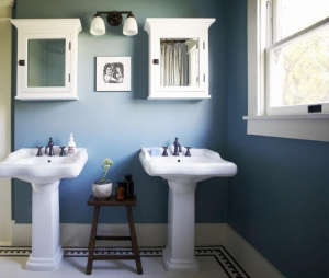 Blue Bath by SIMO Design, Remodelista