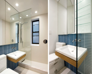 Blue Bath by Uniform Design, Remodelista