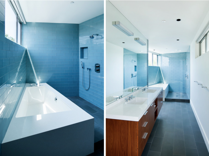 Blue Bath by Walker Workshop_Remodelista