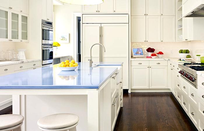 A Guide To Concrete Kitchen Countertops Remodeling 101: Remodeling 101: Lava Stone Countertops: Remodelista