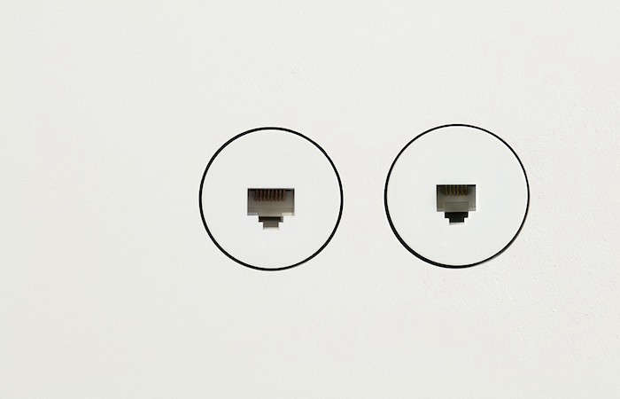 Bocci 22 Flush Mount Electrical Accessories are designed to be installed directly into drywall without a visible cover plate or trim. They can also be set flush into wood, marble, glass, or any other wall surface.