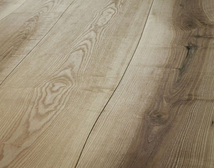 Curves ahead undulating wood floors from the netherlands for Ash hardwood flooring