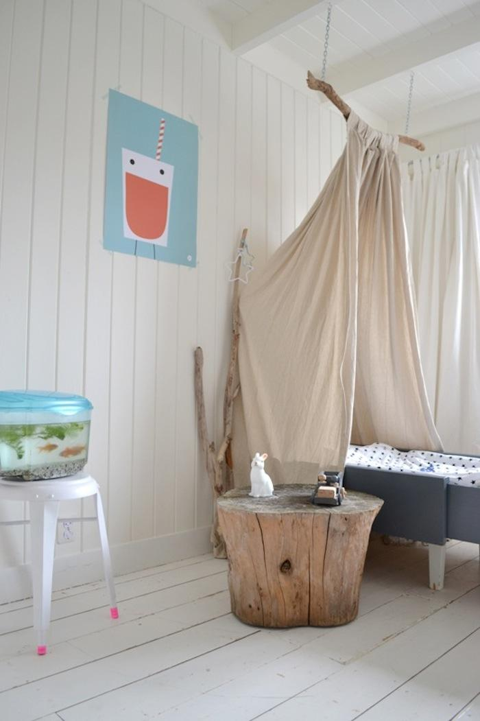 Diy Children S Canopy Bed Remodelista