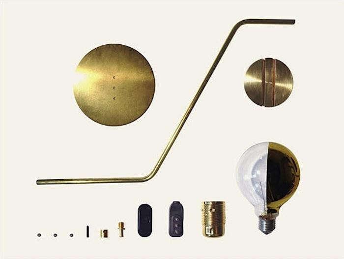 BrassLampComponents