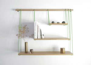 Bridge Shelves by Out of Stock/Remodelista