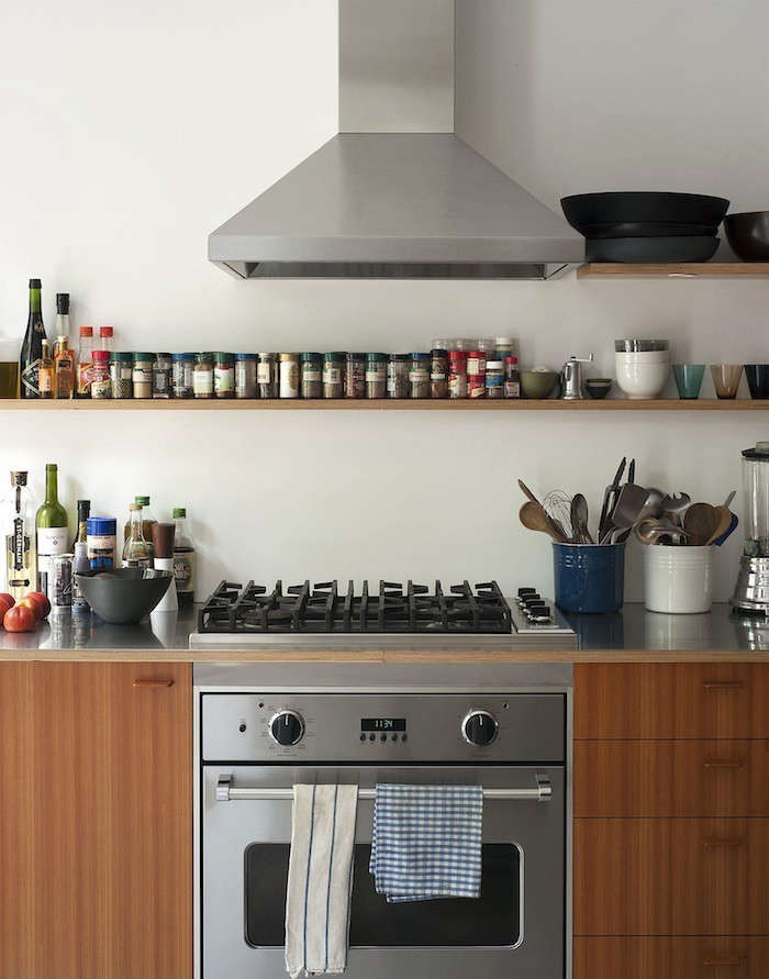 Brooklyn-Townhouse-Remodel-Stainless-Countertop-with-range-Remodelista