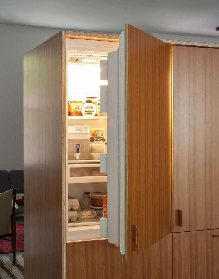 Brooklyn-town-house-remodel-custom-refrigerator-cabinet-Fernlund-and-Logan-Remodelista