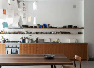 Brooklyn townhouse kitchen remodel Fernlund + Logan | Remodelista