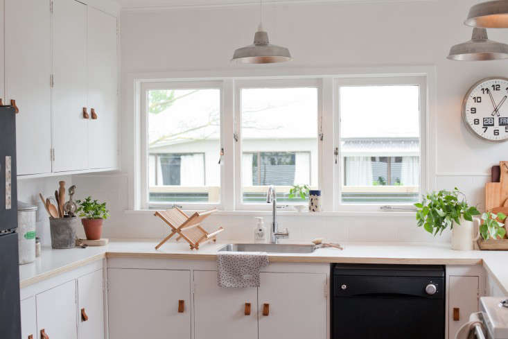 amazing Remodel Kitchen On A Tight Budget #9: Above: u201cAlthough we were lucky to start with good bones, the pennies were  very tight,u201d says Gem. u201cRenovating on a budget is hard in the best of  times, ...