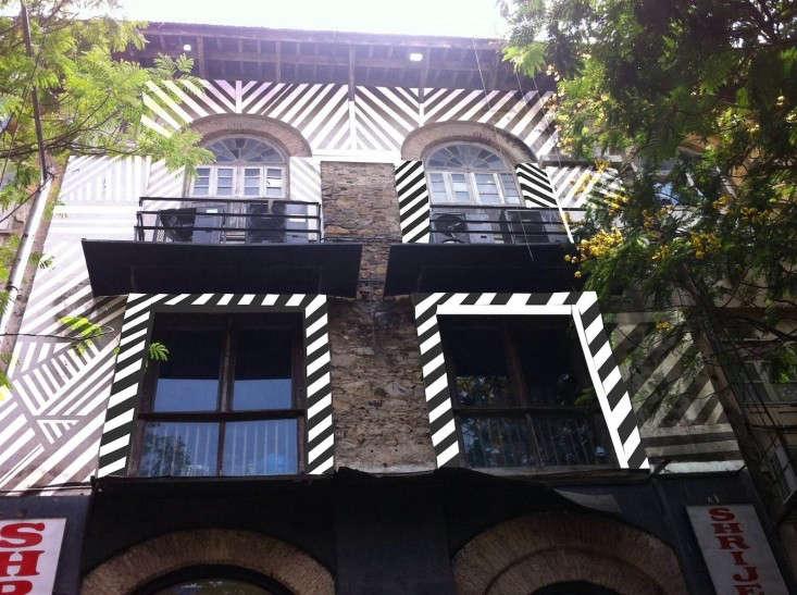 Bungalow-8-Mumbai-exterior-being-renovated-Remodelista