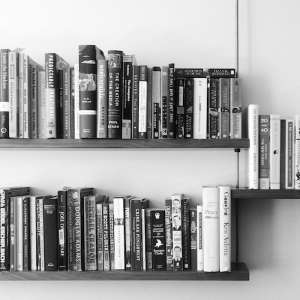 Carlysle Manufacturing Shelving with Books, Remodelista