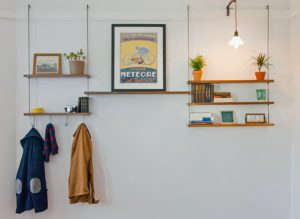 Carlysle Manufacturing Picture Rail Shelving, Remodelista