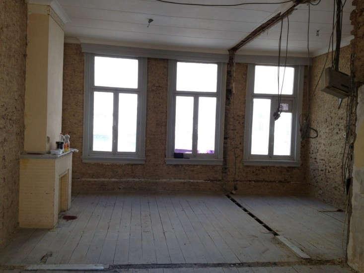 Caroline-Van-Ranst-apartment-Antwerp-Before-shot-Remodelista