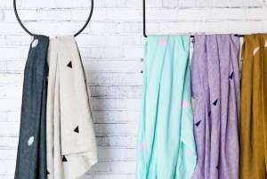Caroline Z. Hurley Throw Blankets on Annaleena's Hem Hangers | Remodelista